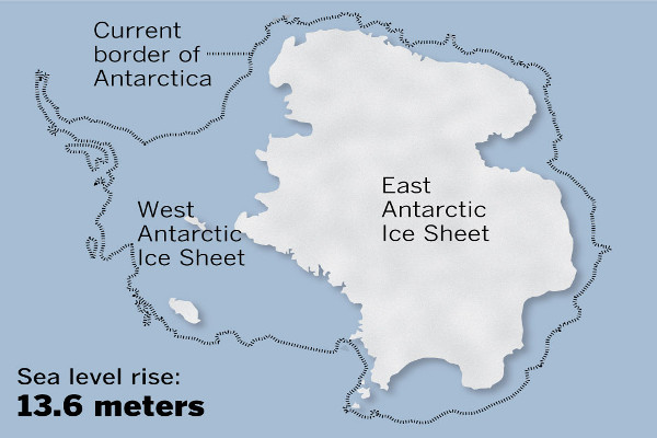 Antarctica's Melting Ice Sheets Are Leading To Ominous Predictions