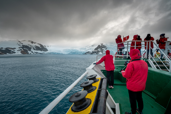 What to do during sea days in Antarctica
